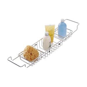 Kúpeľňový antikoro organizér na vaňu Wenko Bringing, dĺžka 58,5 cm