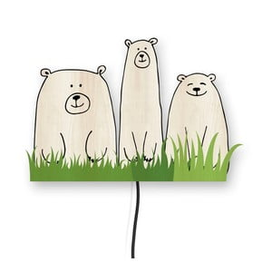 Dekoratívna nástenná lampa Little Nice Things Bears
