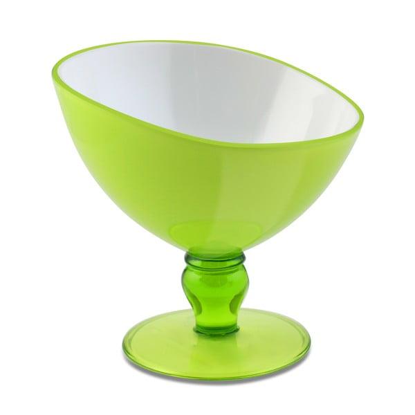 Zelený pohár na dezert Vialli Design Livio, 180 ml