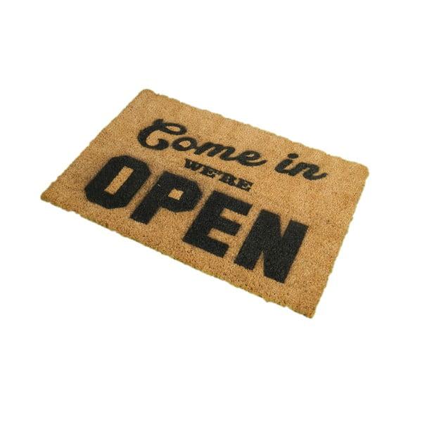 Rohožka Artsy Doormats We're Open, 40x60cm