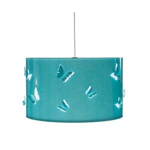 Tyrkysové stropné svietidlo Creative Lightings Butterfly