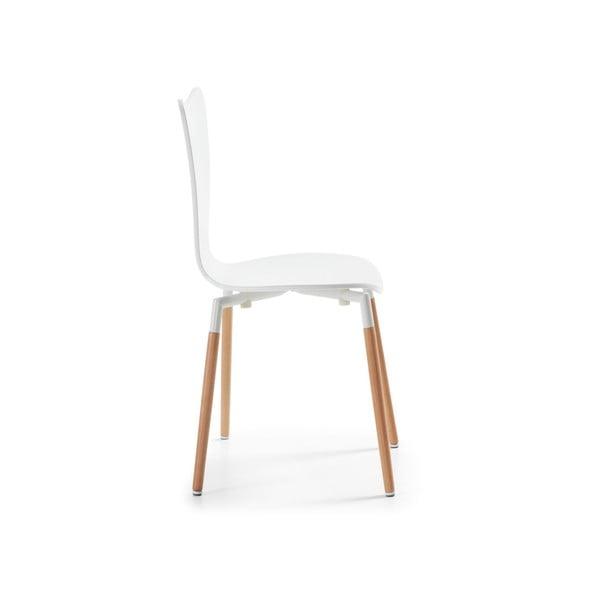 Stolička  Eclectic, biela