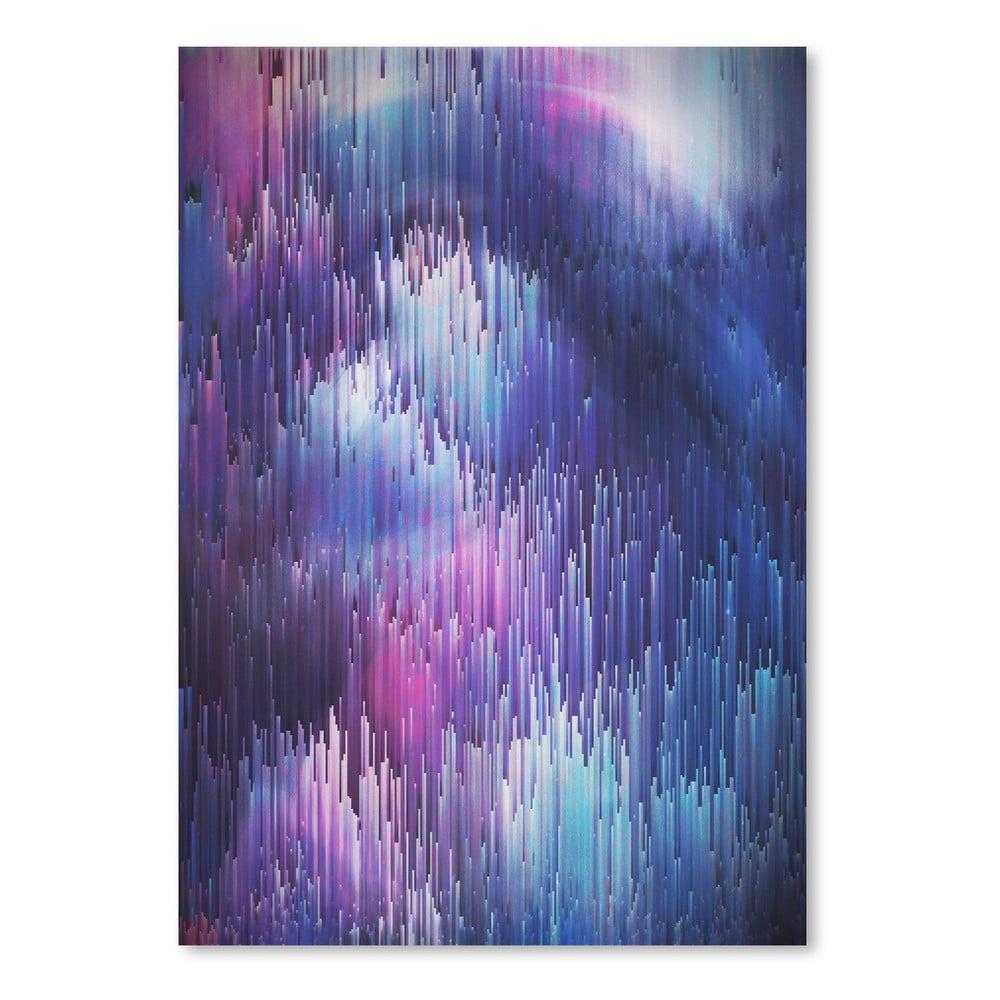 Plagát Americanflat Glitch Galaxy, 30 × 42 cm