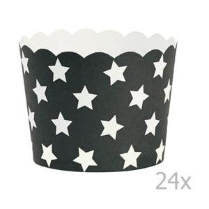 Sada 24 košíčkov na pečenie Miss Étoile Stars