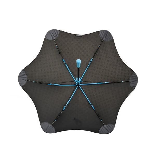 Vysoko odolný dáždnik Blunt Mini+ s reflexným poťahom, modrý