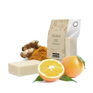 Prírodné mydlo s pomarančom a kurkumou HF Living