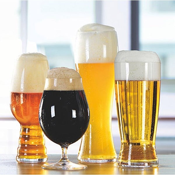Sada 4 pohárov na pivo Tasting Kit