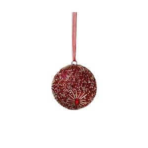 Vianočná závesná ozdoba s perlami Butlers Hang on, ⌀ 5 cm