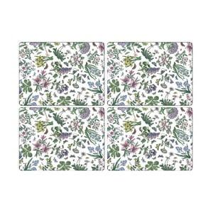 Sada 4 ks prestieraní Portmeirion Flower Power, šírka 30,5 cm