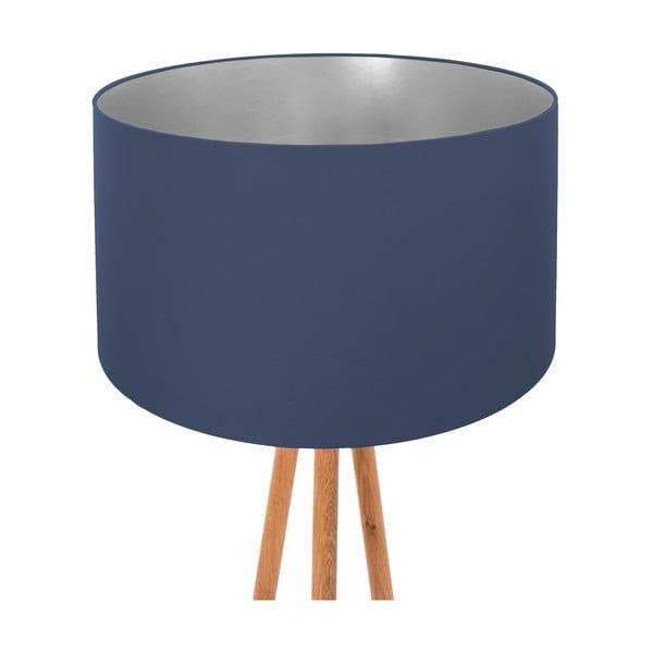 Stojacia lampa Dark Blue Silver
