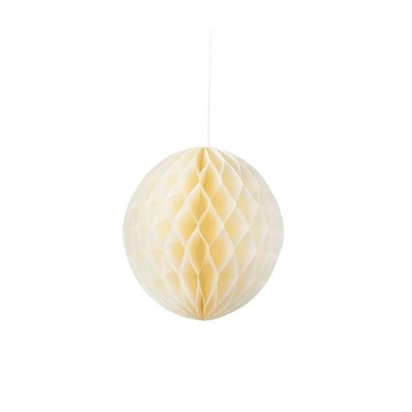 Papierová dekorácia Honeycomb Blossom, 3 kusy