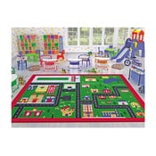 Detský koberec Town, 133 × 190 cm