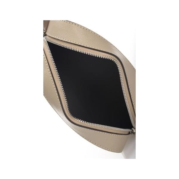 Béžová listová listová kabelka Krole Kath