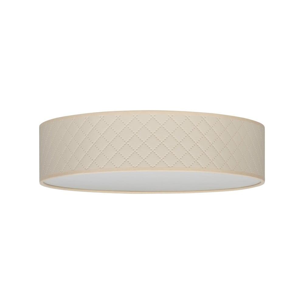 Krémové stropné svietidlo Bulb Attack Trece, ⌀ 40 cm