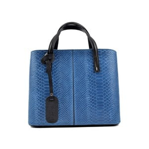 Modrá kožená kabelka Roberta M Murielle