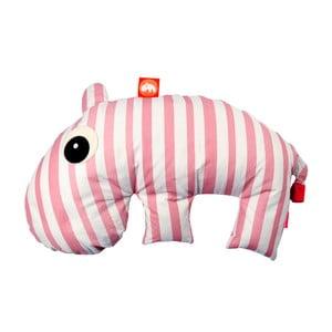 Ružovo-biely vankúšik Done by Deer Mini Sackjack
