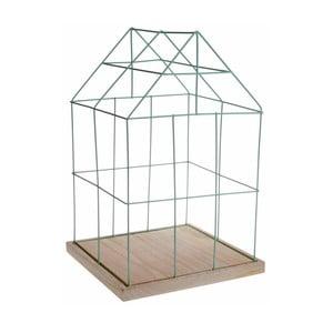 Dekoratívna klietka Ewax Green Cage,41cm