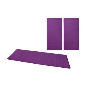 Sada fialových kobercov okolo postele Hanse Home Fancy