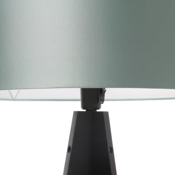 Stojacia lampa Artista Black/Light Green, 125x42 cm