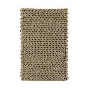 Vlnený koberec Helix Taupe, 160x230 cm