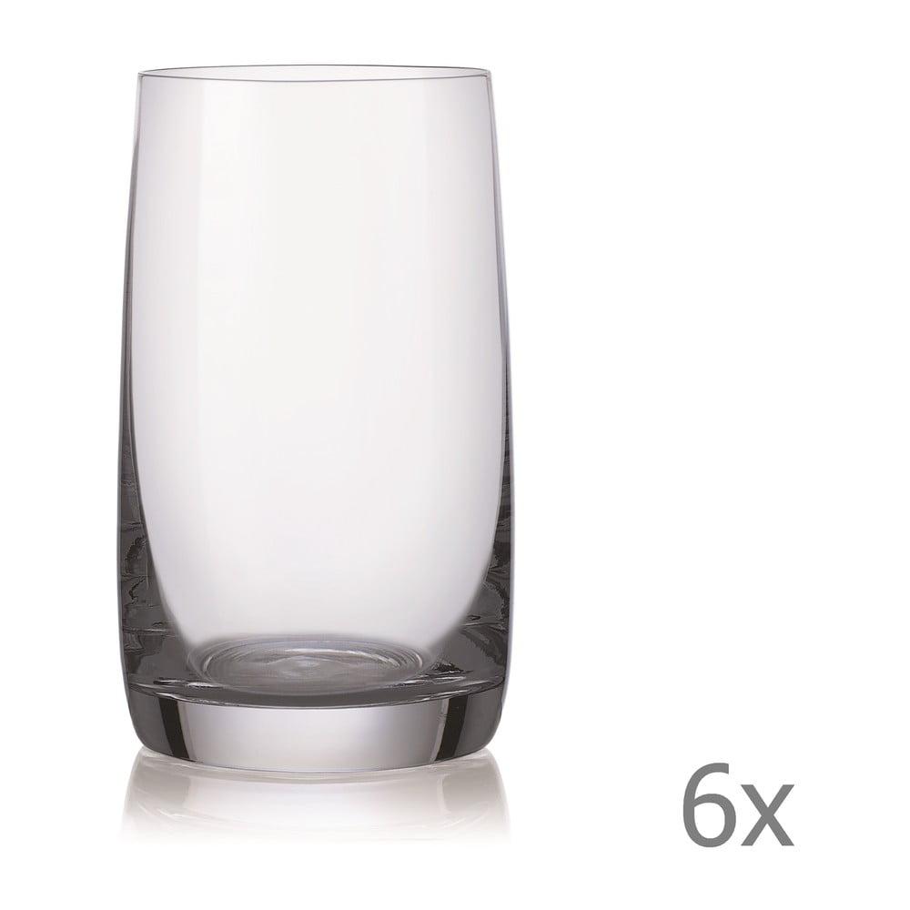 Súprava 6 pohárov Crystalex Ideal, 250 ml