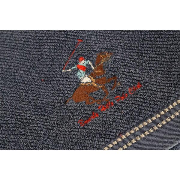 Tmavomodrá osuška BHPC, 80x150 cm
