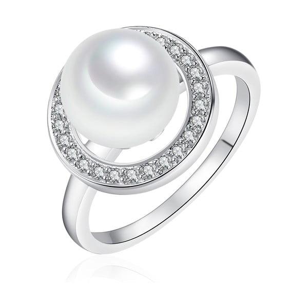 Perlový prsteň Sea White, 1.5 cm