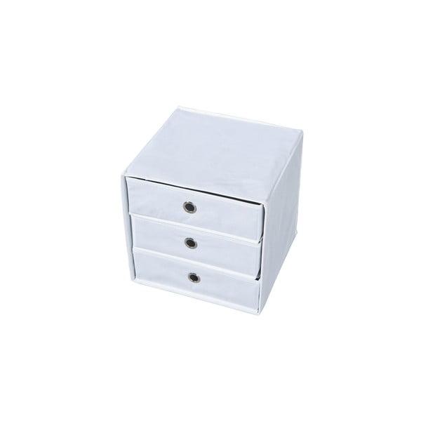 Biely úložný box so zásuvkami 13Casa Lolly