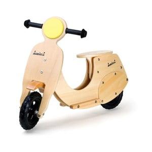 Drevená motorka pre deti Legler Wespe