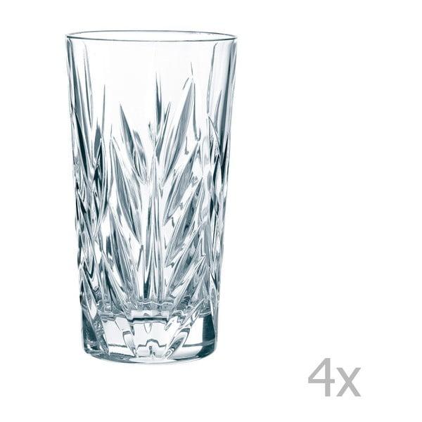 Sada 4 pohárov z krištáľového skla Nachtmann Imperial longdrink, 380 ml