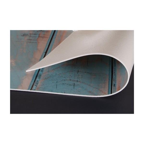 Vinylový koberec Tablas Turquesa, 99x120 cm