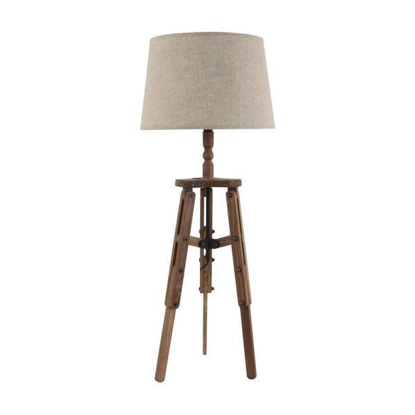 Industriálna stolová lampa Wooden Tramp