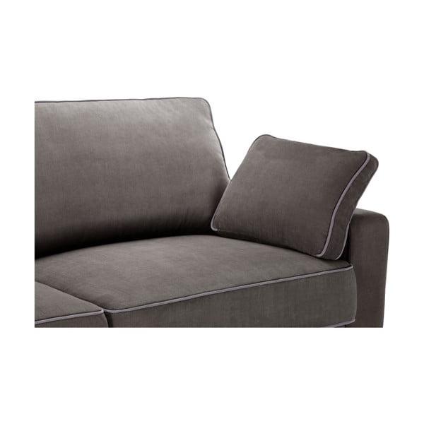 Dvojdielna sedacia súpravaJalouse Maison Serena, tmavohnedá