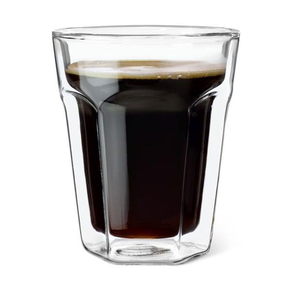Set 2 dvojstenných pohárov Bredemeijer Coffee, 220 ml