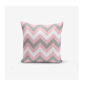 Obliečka na vankúš Minimalist Cushion Covers Zigzag Colorful, 45 × 45 cm