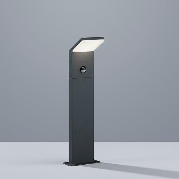 Záhradné stojacie svetlo s pohybovým čidlom Pearl Antracit, 50 cm