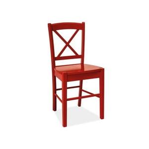 Červená stolička Signal Rachel