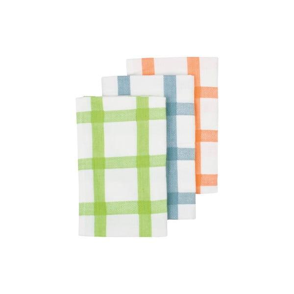 Utierky Grid Lime, 3 ks