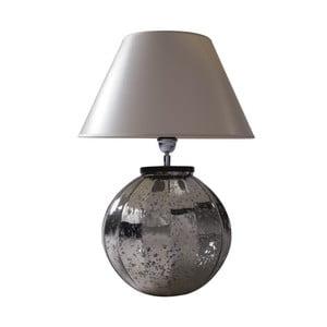 Stolová lampa Strieborná patina
