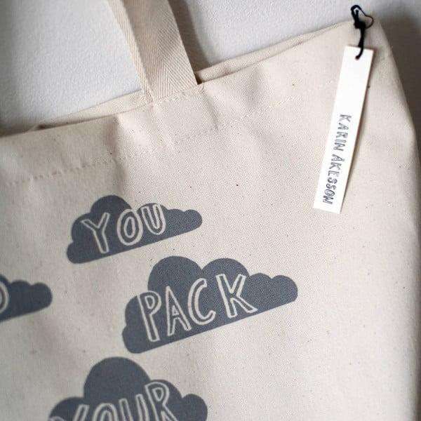 Plátená taška Did You Pack