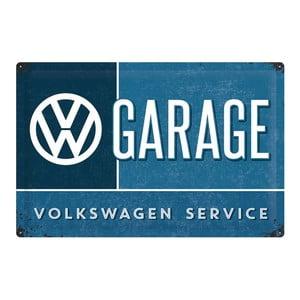 Plechová ceduľa VW Service, 40x60 cm