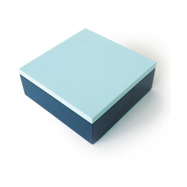 Drevený box Remember Blue
