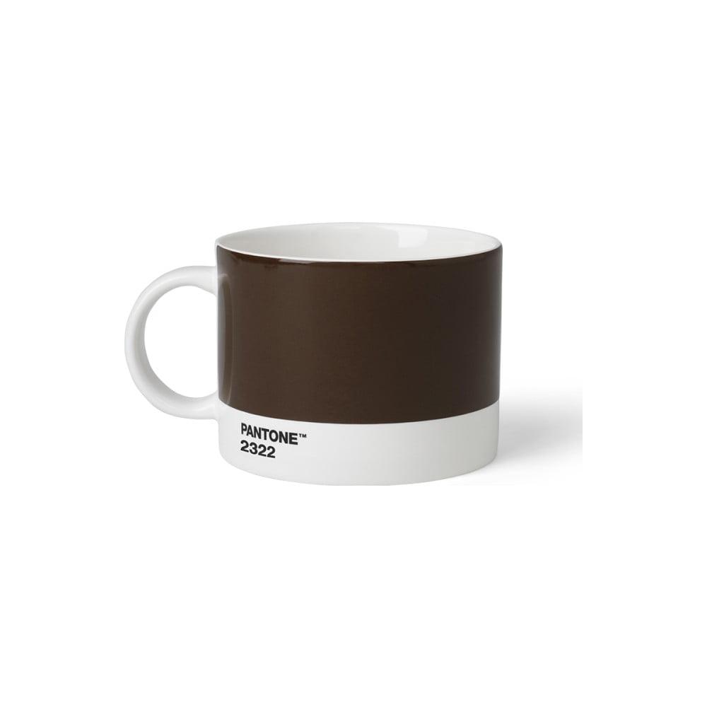 Hnedý hrnček na čaj Pantone, 475 ml
