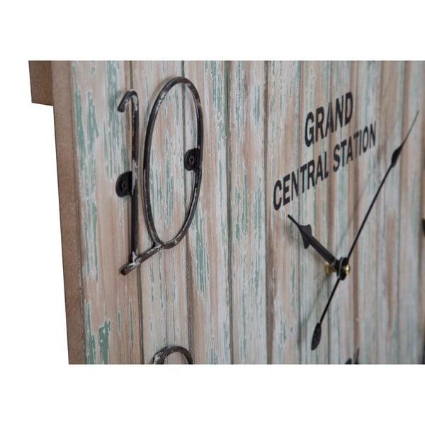 Nástenné hodiny Mauro Ferretti Central Station, 60×60cm