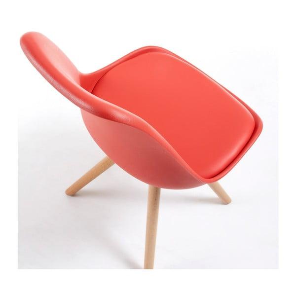 Červená stolička La Forma Lars