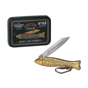 Zlatý nožík v tvare rybičky Gentlemen's Hardware