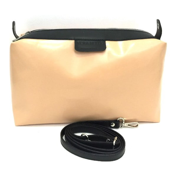 Kožená kabelka Cleia Black