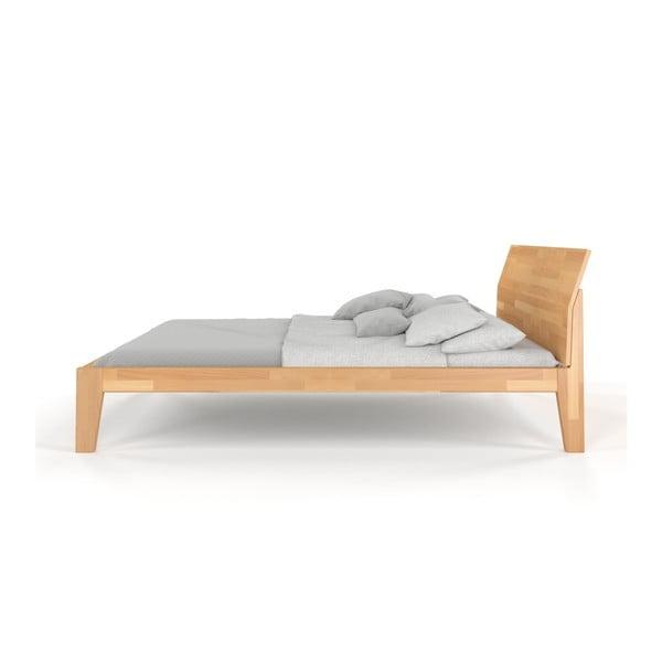 Dvojlôžková posteľ z masívneho bukového dreva SKANDICA Agava, 160 x 200 cm