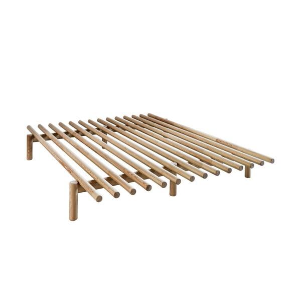 Rám postele z borovicového dreva Karup Design Pace Natural, 180×200 cm