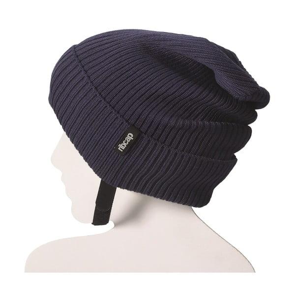Modrá čapica s ochrannými prvkami Ribcap Lenny, veľ. M